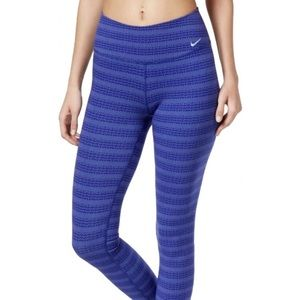 Nike Dri Fit Legend Zig Dot Capri Leggings, Small